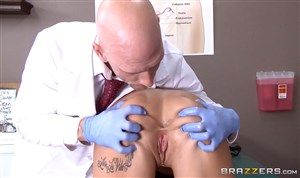 Examination by a gynecologist