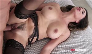 New Sensations - Sexy MILF gets fucked and creampied
