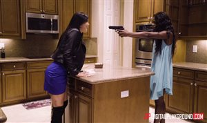 Digital Playground presents a hot threesome in the kitchen