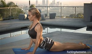 Nicole Aniston blows and rides cop's dick