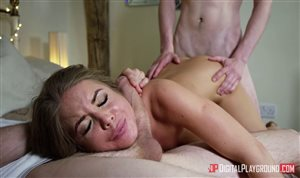 Alessandra takes two dicks in hardcore threesome video